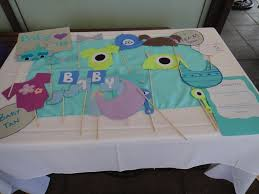 monsters inc baby shower decorations s inc baby shower at downtown disney