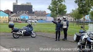 ireland on bmw r1200gs and k1200gt motorbike north ireland close