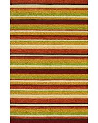 Loloi Outdoor Rugs Deal On Loloi Venice Vb 07 Striped Outdoor Rug Sunset