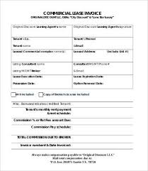 example commercial invoice commercial invoice template 7 free word pdf documents download