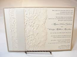 wedding invitations lace lace wedding invitation ideas elite wedding looks