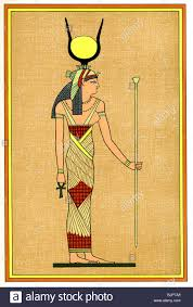 in ancient egyptian mythology isis was the great mother goddess