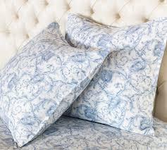 nancy koltes linens acanthus printed cotton sateen duvet u0026 shams