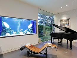 Amazing BuiltIn Aquariums In Interior Design - Home aquarium designs