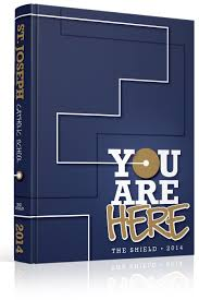 st yearbook yearbook cover st joseph catholic school you are here theme