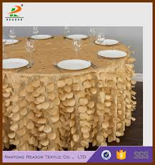 table linen wholesale suppliers 100 polyester wholesale supplier petal taffetta table cloth and