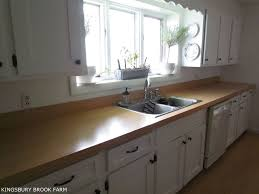 how to make laminate countertops look like wood kingsbury brook farm how to make laminate countertops look like wood