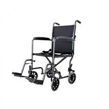 Airgo Comfort Plus Transport Chair Transport Chair Nova Medical Products Drop Arm Transport Chair