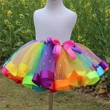 aliexpress com buy fashion new children u0027s day girls rainbow