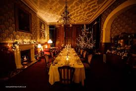 victorian dining room dining room at christmas rossington hall