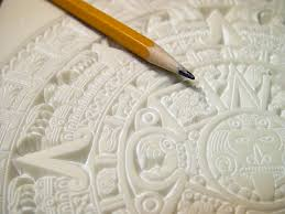 Corian Material Mayan Calendar Carved In 1 4 Inch Thick Corian Solid Surface