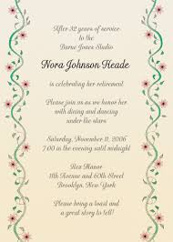 party invitations elegant going away party invitation template