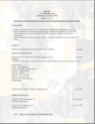 Sample Resume For Beginners by Cosmetology Resume Download Cosmetology Resume Samples Fancy