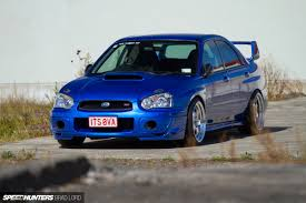 subaru impreza modified blue easy street a no fuss 540whp wrx sti speedhunters
