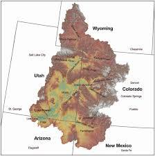 Colorado River Map by Stream System Home
