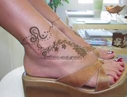 21 fancy leo tattoos on ankle