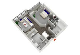 floor plan in 3d candler highland walk