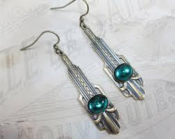 art deco jewelry etsy