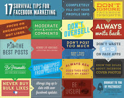 17 consejos para un buen marketing en facebook infograf祗a