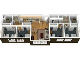 4 Bedroom Apartment by 2 4 Bed Apartments University Village San Marcos