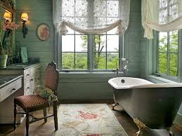 interior modern window treatments for bathrooms with clawfoot