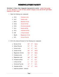 naming ionic compounds practice worksheet