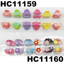 baby hair clip mini plastic butterfly apple flower claws jaw baby hair