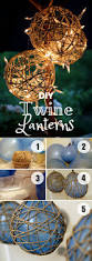 20 best diy fall decor ideas to decorate your home in style easy to make diy twine lanterns for fall home decor istandarddesign