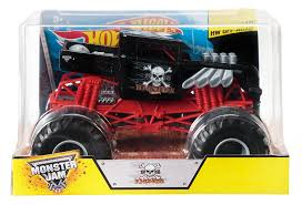 monster jam 2015 trucks amazon com wheels monster jam 1 24 scale bone shaker vehicle