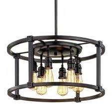 Bronze Pendant Light Fixtures Bronze Pendant Lights Lighting The Home Depot