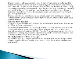 cover letter important when you re sending an cover letter it s important to follow the