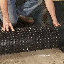 gorgeous ideas water barrier for basement floor subfloor options