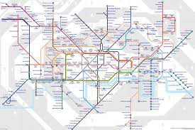 Map England by London Tube Map London Tube And Rail Map England