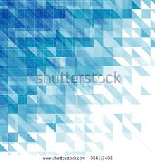 abstract blue background triangles squares lines imagem vetorial