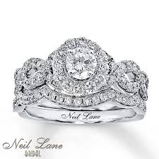 neil bridal set neil bridal set 1 1 6 ct tw diamonds 14k white gold
