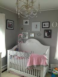 Grey And White Crib Bedding Pink And Gray Baby Nursery Pink And Gray Dahlia Crib Bedding Pink
