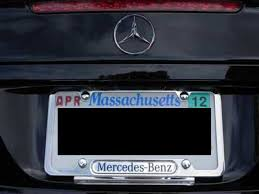mercedes license plate holder modifications modification lists
