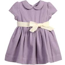 ralph baby lilac wool blend dress knickers