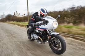 bmw motorcycle cafe racer uk exclusive bmw r ninet racer first ride mcn