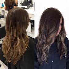 Dark Hair Colors And Styles Light And Brassy Darker And Softer Balayage Lowlights