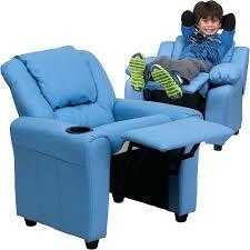 light blue recliner chair recliner chair light blue vinyl kids recliner with cup