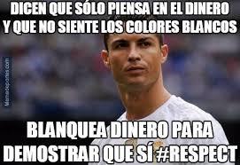 Memes De Cristiano Ronaldo - cristiano ronaldo hacienda y los memes del clásico