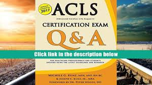 free download acls certification exam q a with explanations