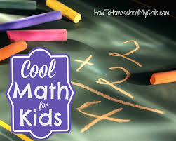 cool math for kids weekend links how to homeschool my child