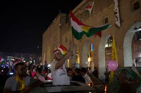 Kurdish Flag Iraq U0027s Kurds Vote On Independence Raising Regional Fears U2013 The