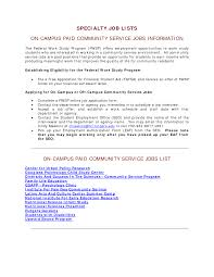 cover letter community services cover letter for work study gallery cover letter ideas