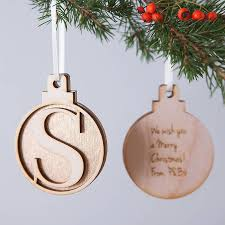 initial baubles deco greeting cards