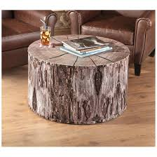 castlecreek tree trunk coffee table 664330 living room at
