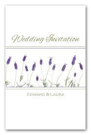 Lavender Wedding Invitations French Lavender Fb54 Contemporary Wedding Invitations And