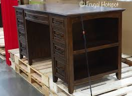 tresanti sit stand desk costco bayside furnishings executive writing desk costco frugalhotspot